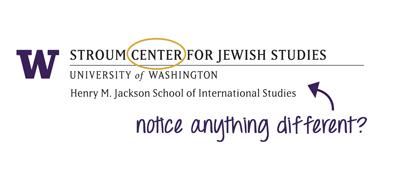 Stroum Center for Jewish Studies at UW