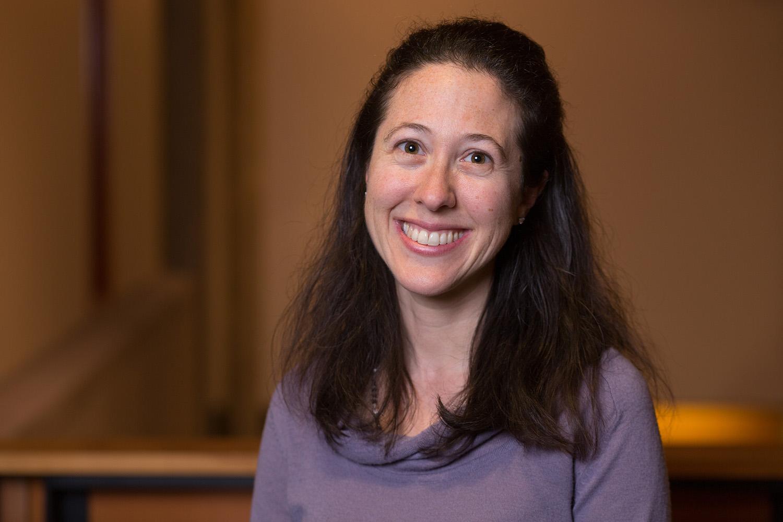 Lauren Kurland is the Stroum Center's Director of Student Engagement. Photo by Meryl Schenker.