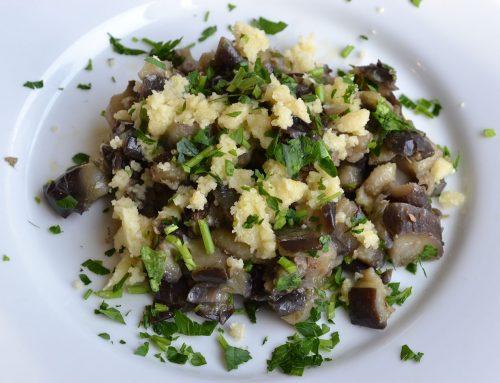 Almodrote: Spicy Eggplant