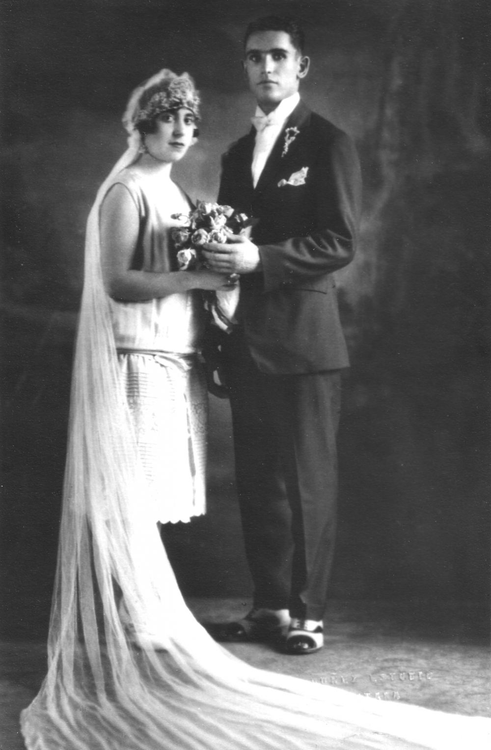 Ruth Behar's paternal grandparents came from Turkey and were married in Havana. This photograph dates from the mid-1920s.