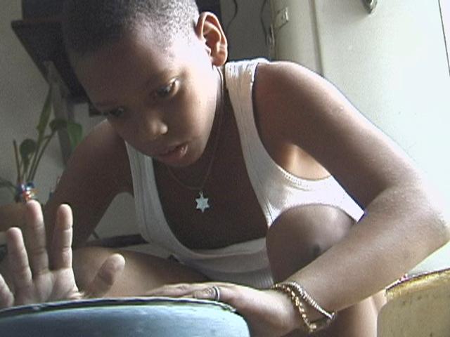 "Image from Ruth Behar's documentary film about Cuba, ""Adio Kerida"" (Goodbye Dear Love)."