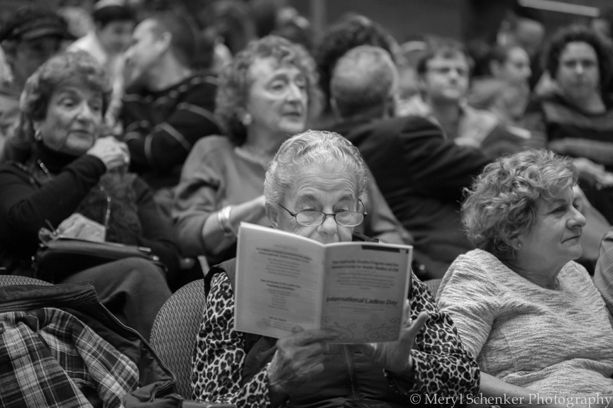 Fans of Ladino await the start to the 2015 International Ladino Day Celebration.