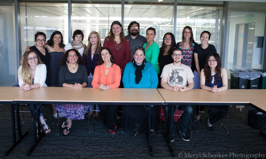 An interdisciplinary group of students convened for a conversation with this year's Stroum Lecturer, Dr. Ruth Behar, on May 21, 2015.