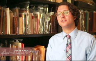 UW professor Devin Naar is working to keep its dying language, Ladino, alive. (Bettina Hansen & Corinne Chin : The Seattle Times)