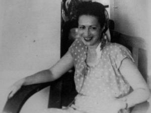 Lisa Fittko, photographed in Havana, 1944.