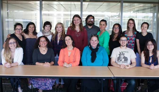 As part of student outreach, the Stroum Center organized a conversation with Prof. Ruth Behar in May 2015. Photo by Meryl Schenker.