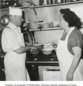 Morris & Zelda Tacher, Washington State Historical Society