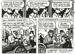 Panel from Maus Holocaust
