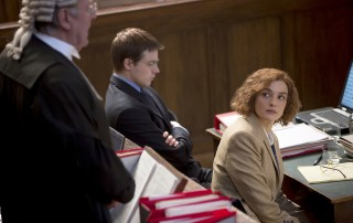 "Rachel Weisz as writer and historian Deborah E. Lipstadt in ""Denial."" Photo Credit: Laurie Sparham, Bleecker Street."