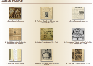 Sephardic Digital Museum screenshot