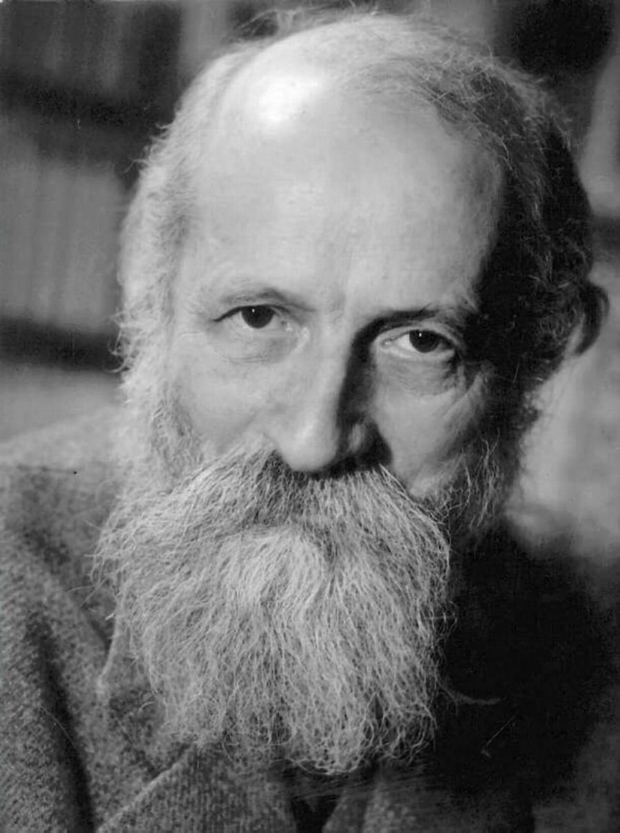 The philosopher Martin Buber, 1878-1965, was born in Vienna and was influential in Zionism and existential philosophy.