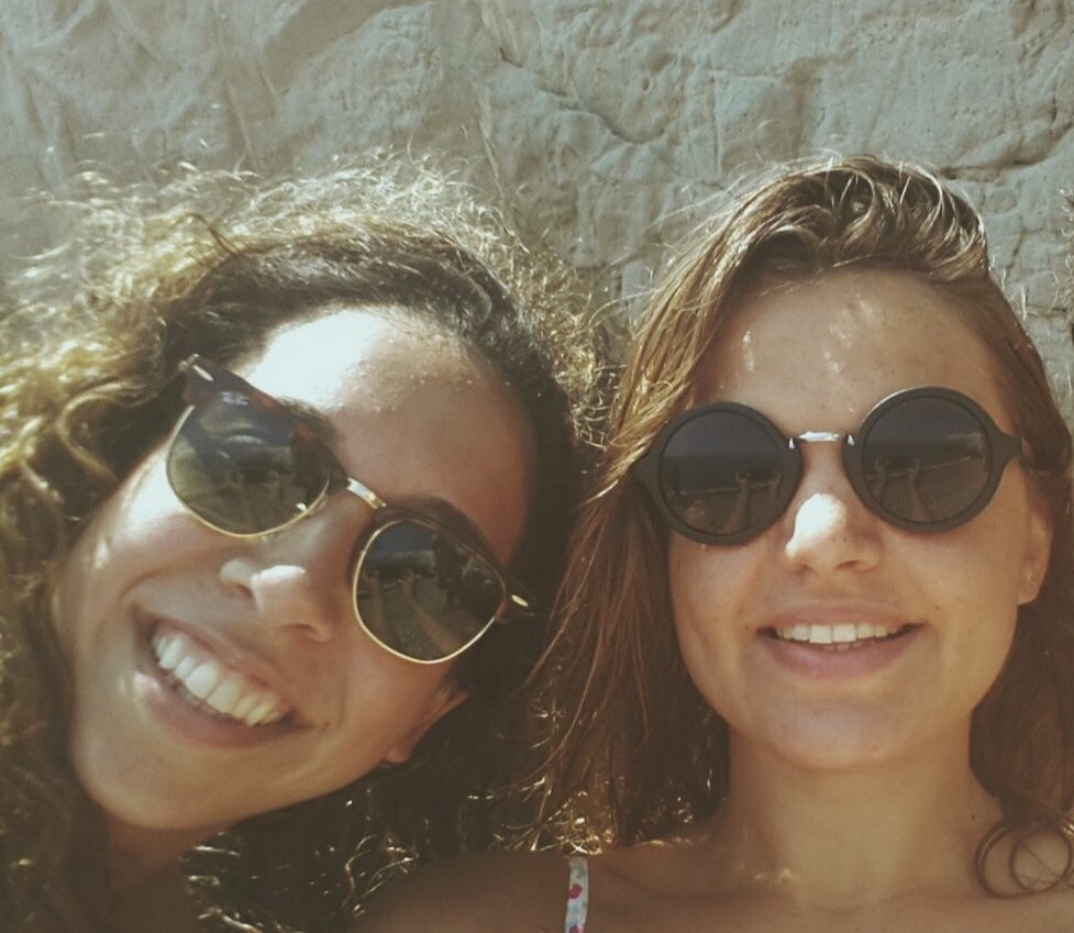 Canan Bolel with friend today