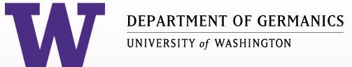 UW Department of Germanics