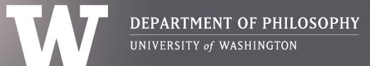 UW Department of Philosophy