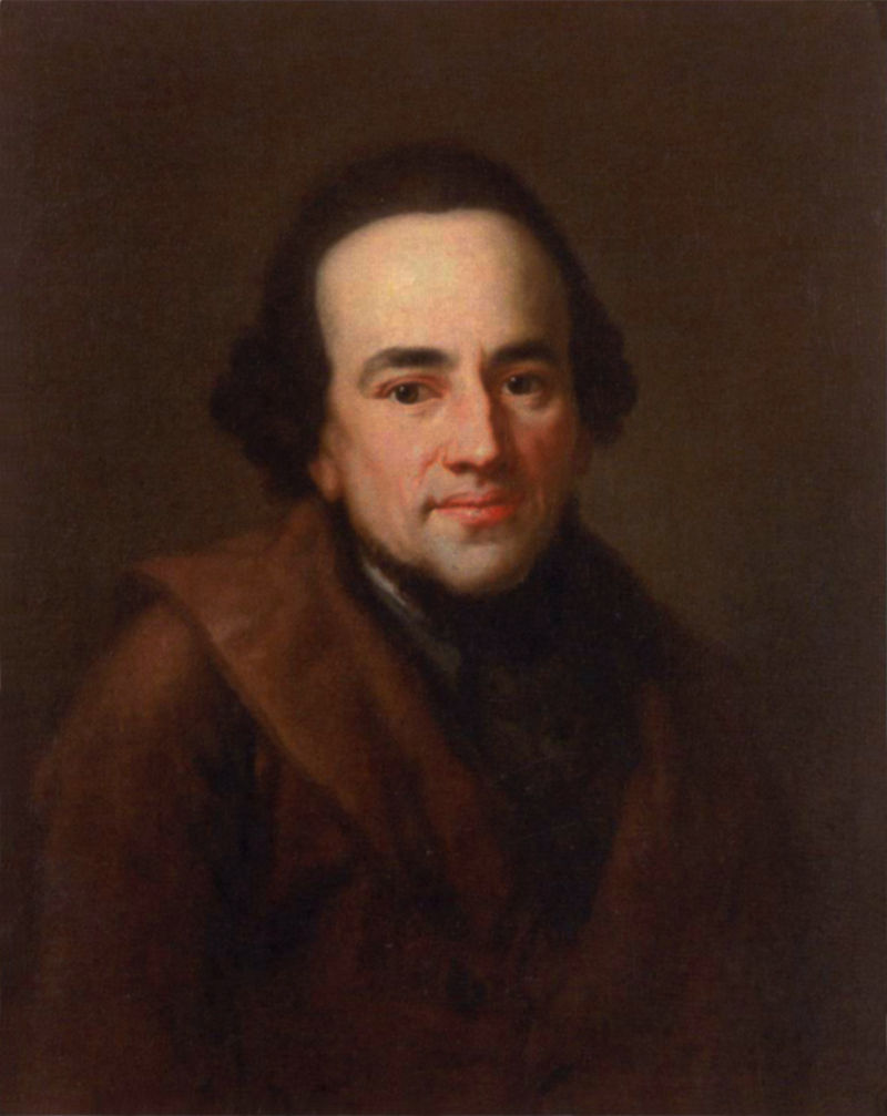 Portrait of Moses Mendelssohn