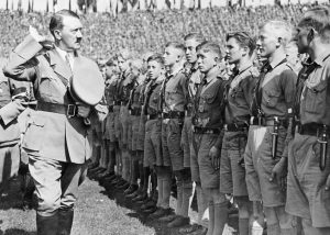 Image of Hitler in Nazi Germany