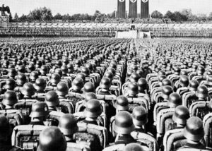 Image of Nazi soldiers in Germany
