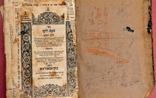 Sefer Meam Loez, commentary on the Book of Genesis. (Salonika, 1826 ) Courtesy of Professor Devin Naar