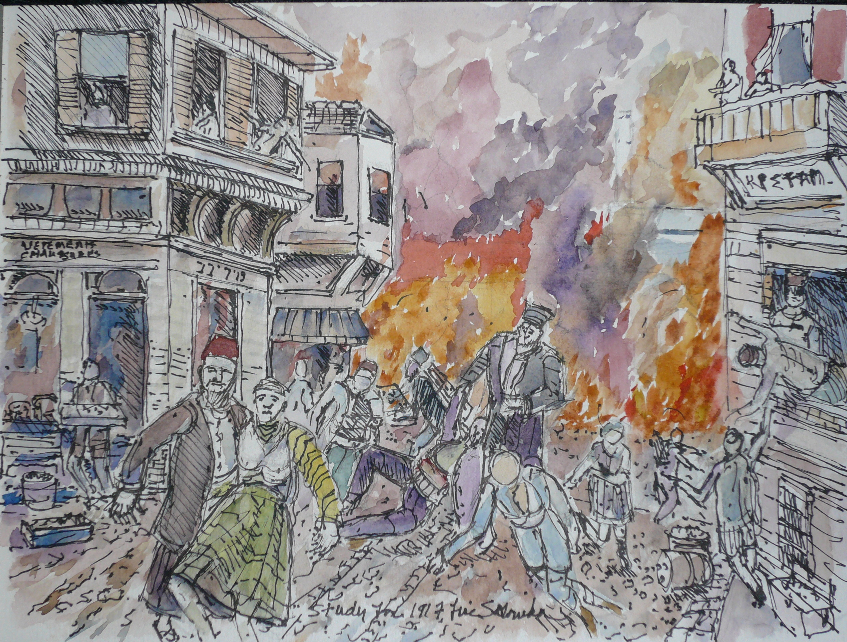 A century ago, Jewish Salonica burned. It was rebuilt, only to be destroyed anew | (JTA) Jewish Telegraphic Agency