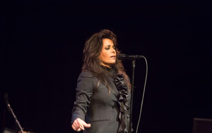 Singer Yasmin Levy performs for an audience