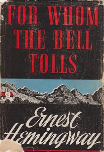 """Book cover for """"For Whom the Bell Tolls"""""""