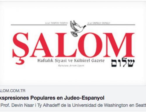 Expresiones Populares en Judeo-Espanyol   Şalom Gazetesi   Haftalık Siyasi ve Kültürel Gazete
