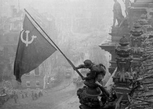 Image of the Soviet liberation of Berlin