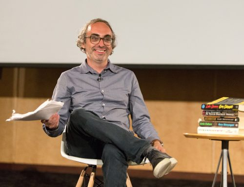 Video: Gary Shteyngart reflects on immigration, memory, and Russian Jews in the 2018 Stroum Lectures