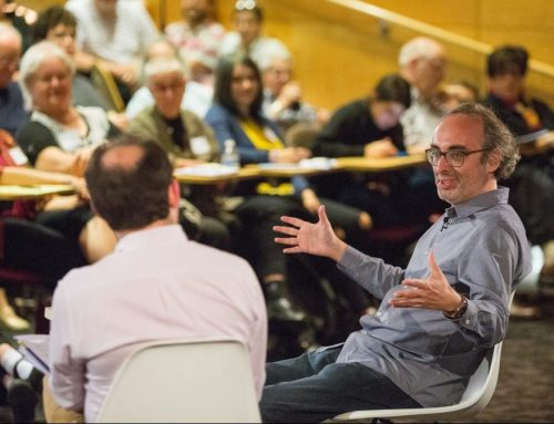 "VIDEO | Gary Shteyngart discusses his new novel and ""the new dystopia"" of America in the 2018 Stroum Lectures"