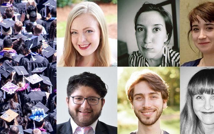 Collage showing 2019 graduates of Jewish studies