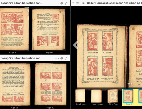 How to use Mirador to view the Sephardic Studies Digital Collection