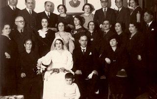 Saltiel family in Salonica