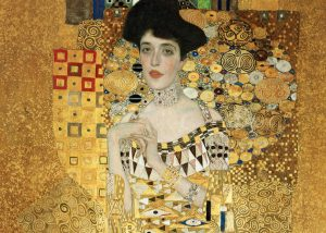 """Image of Klimt's painting, """"Woman in Gold"""""""