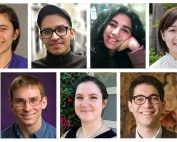 Collage of 2020-2021 graduate fellow portraits