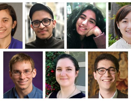 Announcing the 2020-2021 graduate fellows in Jewish Studies