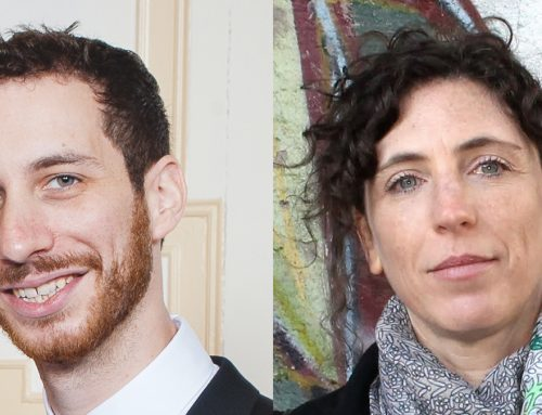 Welcoming postdoctoral fellows Brendan Goldman and Smadar Ben-Natan