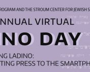 """Banner showing """"Ladino Day"""" event title"""