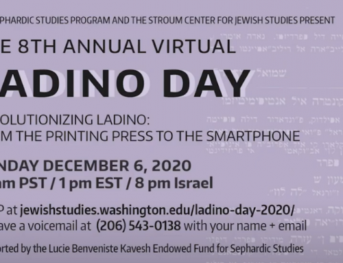 VIDEO | 8th Annual Ladino Day: Revolutionizing Ladino, from the Printing Press to the Smartphone