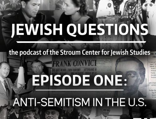 PODCAST | Jewish Questions, Episode 1: Anti-Semitism in the United States — Susan Glenn