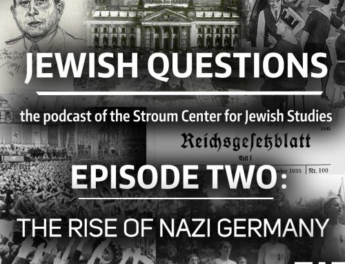 PODCAST | Jewish Questions, Episode 2: The Rise of Nazi Germany — Laurie Marhoefer