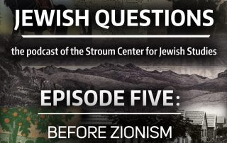 "Visuals illustrating episode 5, ""Before Zionism"""