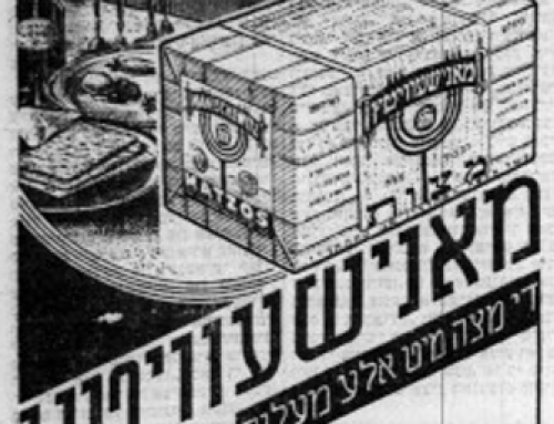 How were matzah ads in Ladino different from Yiddish ones? | Yiddish Forward