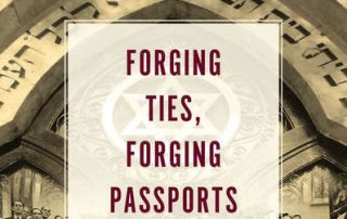 Cover of Forging Ties, Forging Passports by Devi Mays.