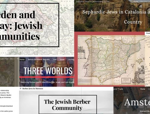 Student-created websites explore Jewish history in Sweden, Catalonia, Amsterdam, Morocco, Iran & other regions around the world