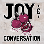 Logo for Joy and Conversation podcast.