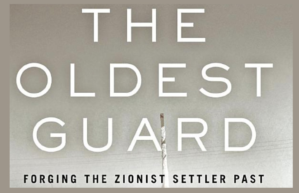 """Book cover of """"The Oldest Guard"""" showing a historic photograph"""